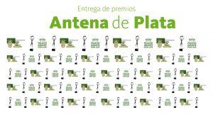 Gala de Entrega de los premios Antenas de Plata