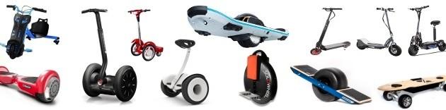 Vehículos de movilidad personal. VMP
