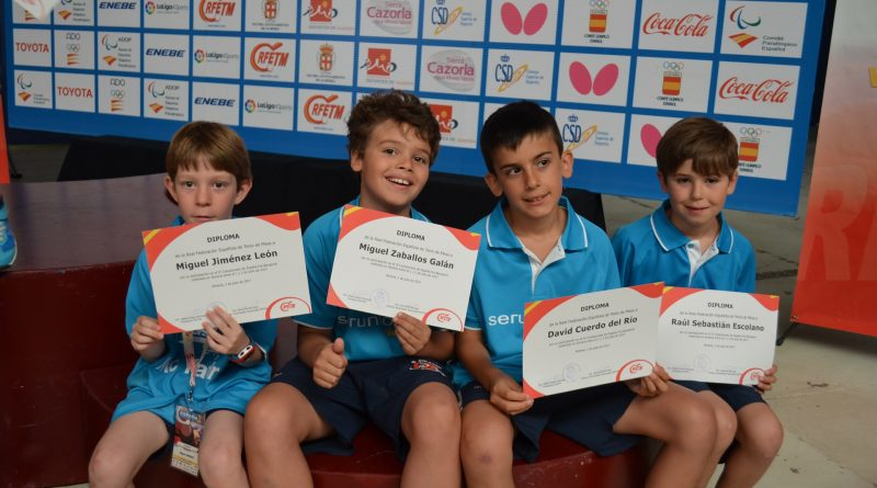 Boadilla, campeón de España de tenis de mesa en 2017