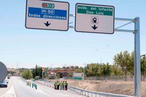 Acceso a la Avda. Infante Don Luis desde la M-513