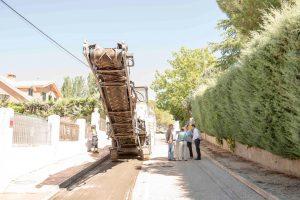 Operación asfalto en Boadilla 2017