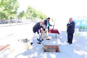 Primera piedra del nuevo Centro Municipal de Gestión del Servicio de Jardinería