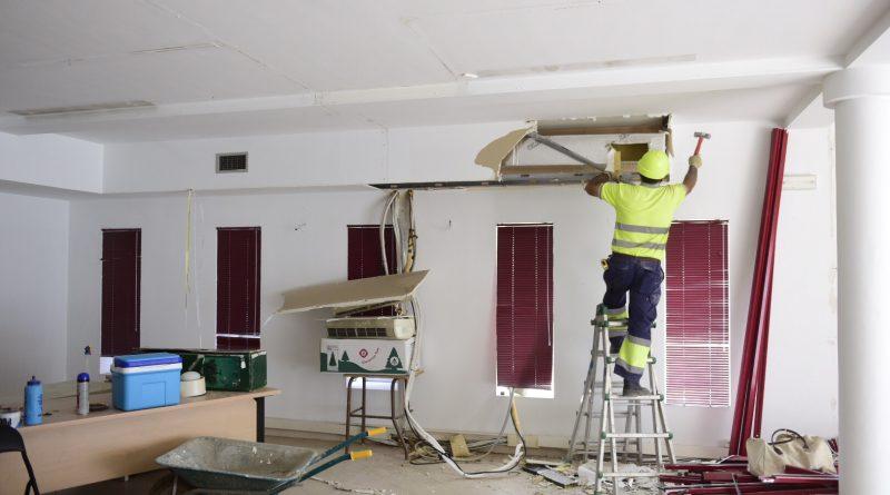 Obras de adecuación del Edificio de Asuntos Sociales de la calle Arco para albergar el Banco de Alimentos