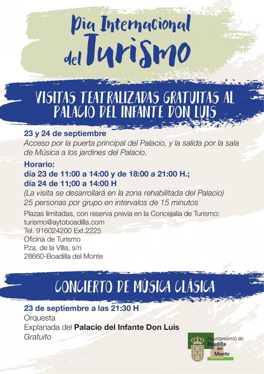 Actividades y Eventos por el Día Internacional del Turismo 2