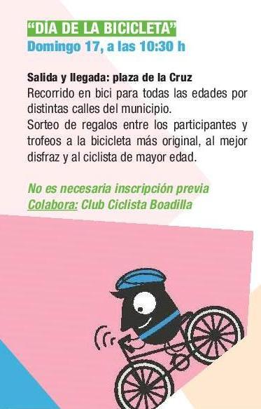 Día de la bicicleta 2017. Semana de la Movilidad de Boadilla