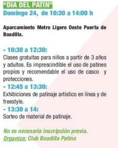Día del Patín @ Aparcamiento del Metro Ligero Oeste Puerta de Boadilla | Boadilla del Monte | Comunidad de Madrid | España