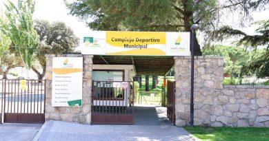 ntrada el Complejo Deportivo Municipal de Boadilla del Monte