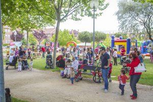 Familias en un parque de Boadilla