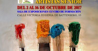 Exposición colectiva artistas senior 2017
