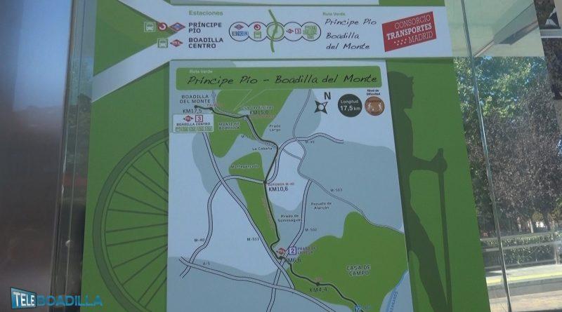 Ruta Verde Príncipe Pío-Boadilla