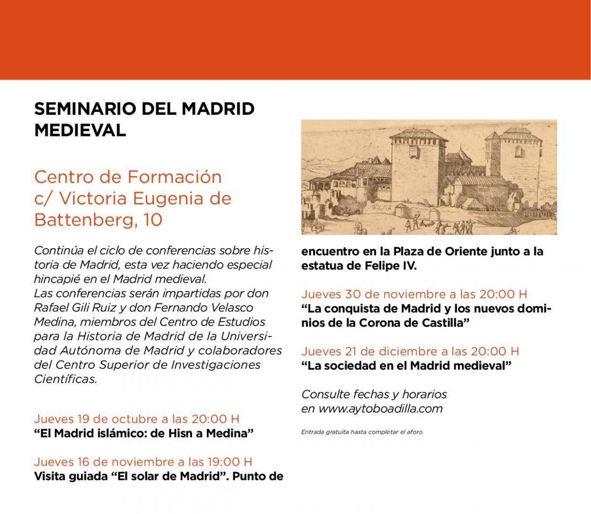 Seminario del Madrid Medieval