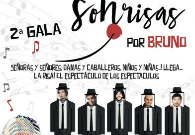 2ª Gala Sonrisas por Bruno el 24 de septiembre
