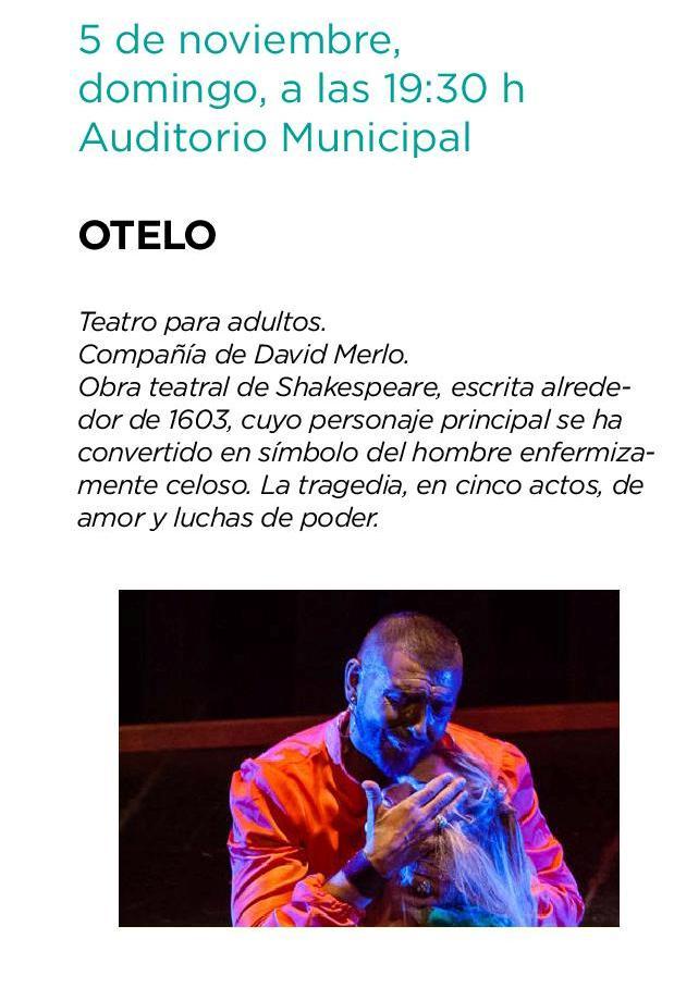 Teatro Clásico. Otelo