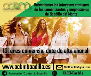 ACMBM Asociación de comerciantes de Boadilla del Monte