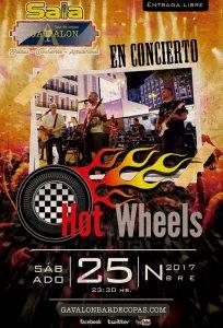 Concierto de los Hot Wheels en Gavalon
