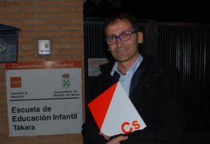 Ricardo Díaz. Portavoz Ciudadanos en Boadilla