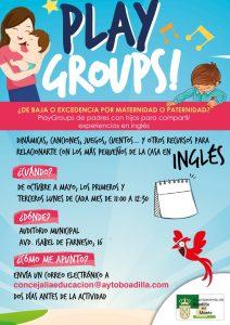PlayGroups de padres e hijos para compartir experiencias en inglés @ Auditorio Municipal | Boadilla del Monte | Comunidad de Madrid | España