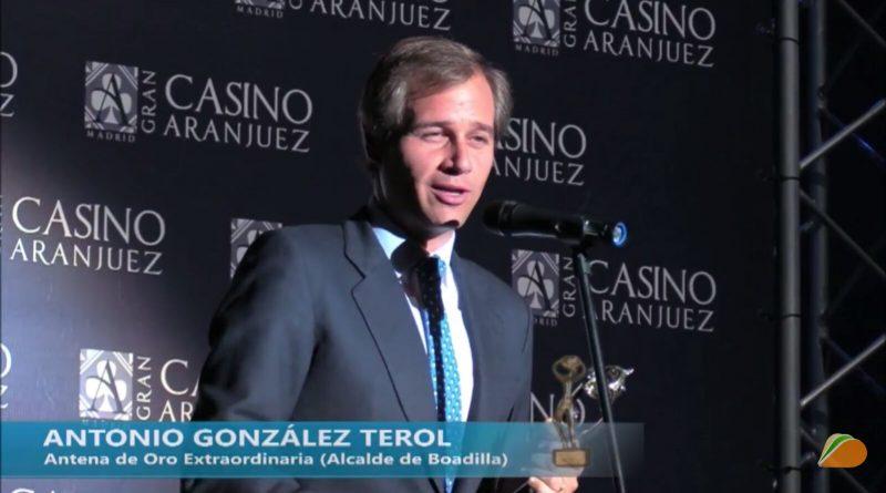 Antonio González Terol Premio Antenas de Oro 2017