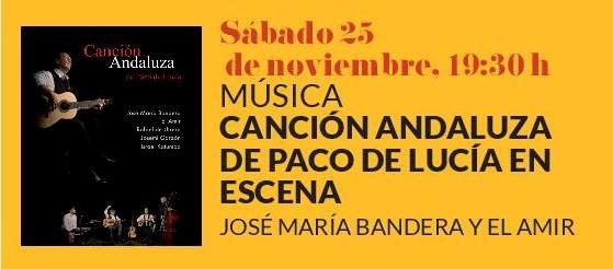 Festival de Jazz Boadilla. Canción Andaluza de Paco de Lucía en Escena