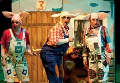 Teatro: Los tres cerditos. 20 de enero