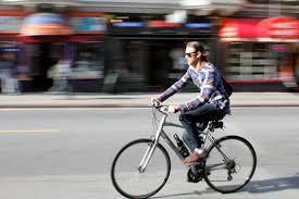 Uso de la bicicleta en la ciudad