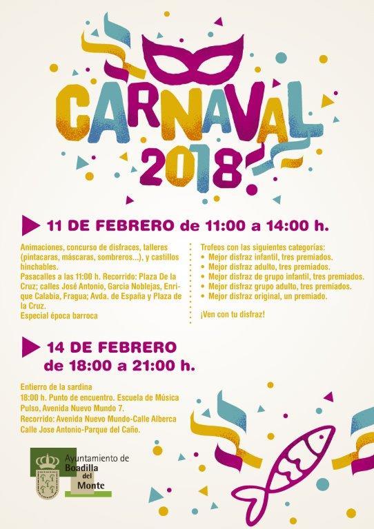 Carnaval 2018 Boadilla