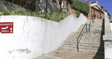 Contención del muro de la calle Buenavista
