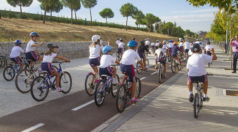Movilidad sostenible en Boadilla