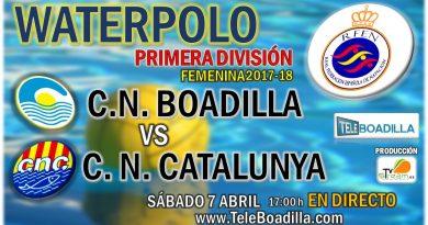 Waterpolo: 1ª División Femenina. CN Boadilla vs CN Catalunya
