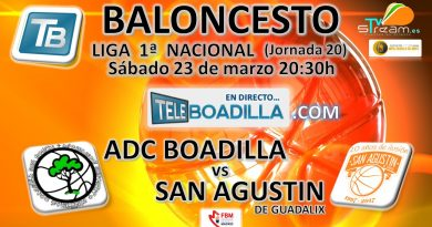 Redifusión baloncesto ADC Boadilla 93  S.A. Guadalix 65