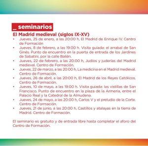 El Madrid Medieval (Siglos IX-XV) @ Centro de Formación | Boadilla del Monte | Comunidad de Madrid | España
