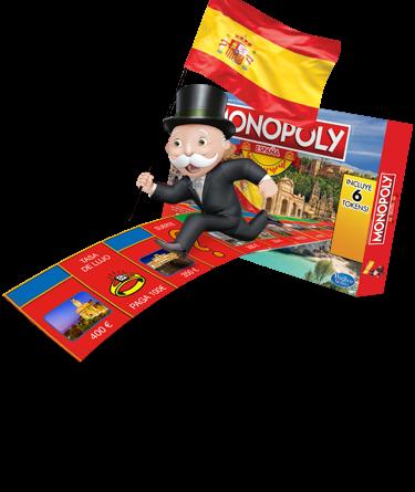 Juego del Monopoly edición española
