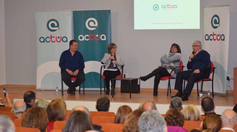Presentación de Actúa en Boadilla del Monte con Baltasar Garzón