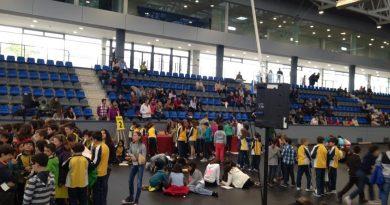 Gran gymkana matemática celebrada ayer en Boadilla