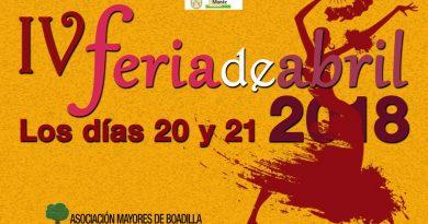IV edición de la Feria de Abril para los mayores