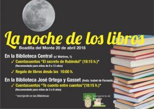 La Noche de los Libros @ Biblioteca Central | Boadilla del Monte | Comunidad de Madrid | España