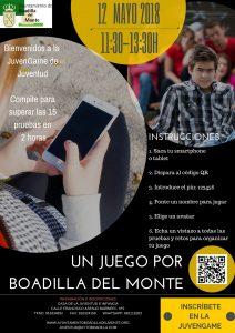 Juego de pruebas por Boadilla con avatares creados en el móvil @ Casa de la Juventud | Boadilla del Monte | España