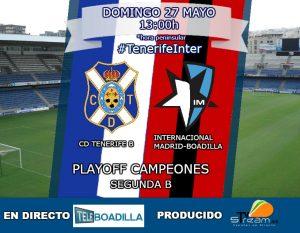 El Inter Boadilla se juega el ascenso a 2ª B en Tenerife @ Teleboadilla
