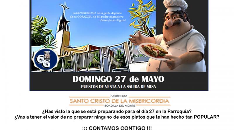 Jornada gastronómica solidaria ¡¡¡hoy no cocinas tú !!!
