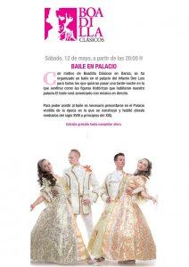 Baile en el Palacio del Infante Don Luis @ Palacio del Infante Don Luis  | Boadilla del Monte | Comunidad de Madrid | España