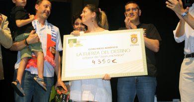"""El Musical """"La fuerza del destino"""" recauda 4.350 euros para Juan"""
