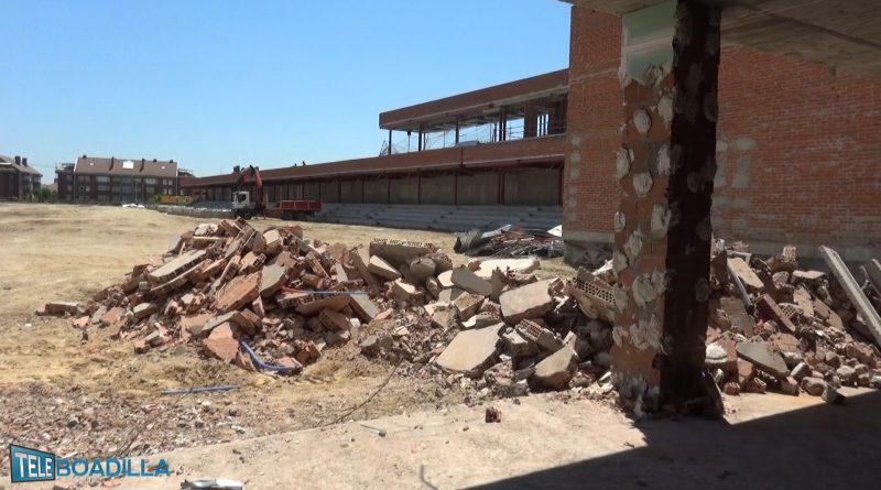 Obras en el Complejo Deportivo Condesa de Chinchón