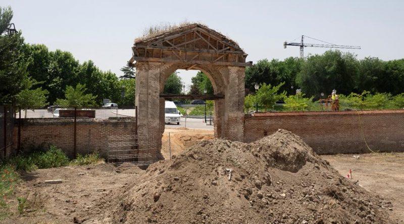 Rehabilitación de los muros y portones del Palacio