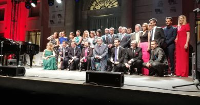 Entrega de premios Antenas de Plata 2018 en Boadilla