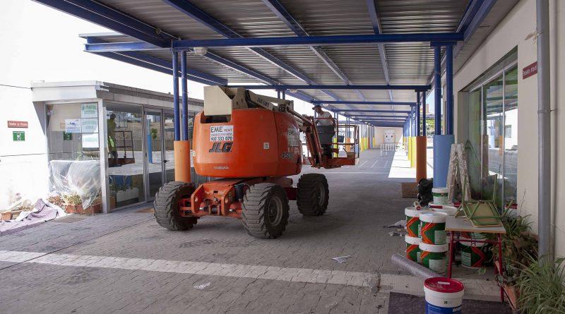 Obras de remodelación en el CEIP Teresa Berganza