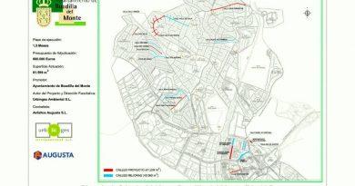 Plan de asfaltado 2018 en Boadilla