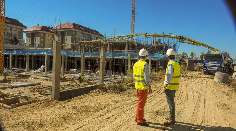 Construccion de 95 viviendas de la EMSV de Boadilla