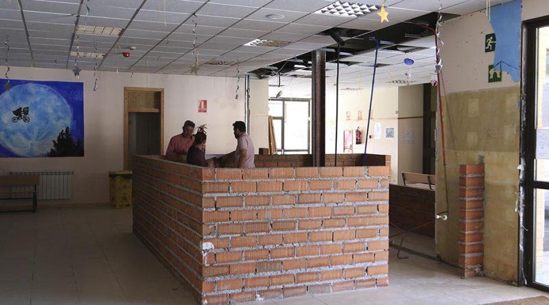 Obras de mejora en las instalaciones del CEIP Ágora