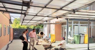 Obras de renovación del colegio público Federico García Lorca
