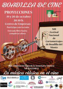 Boadilla Cine 19 y 20 octubre @ Centro de empresas | Boadilla del Monte | Comunidad de Madrid | España